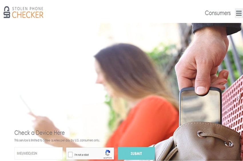 Website kiểm tra xem iPhone có phải là đồ ăn cắp hay không?