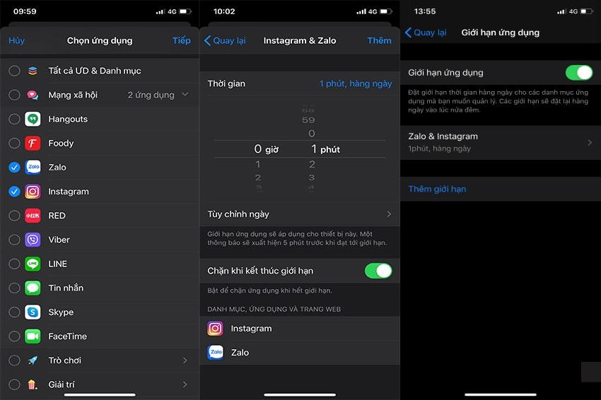 Bước 4 bảo mật app trên iPhone