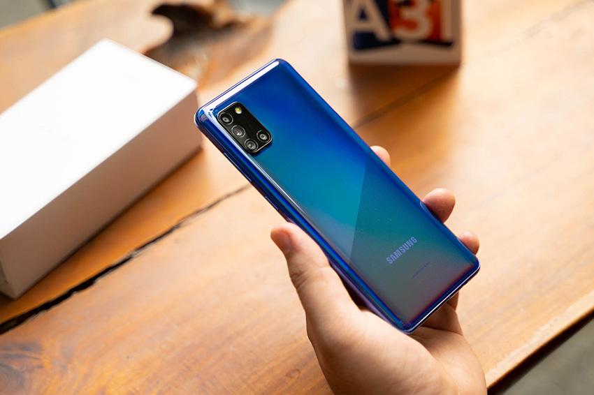 Samsung Galaxy A31 (6GB|128GB) Chính Hãng cau hinh galaxy a31 viendidong