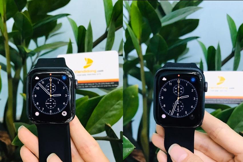 Ép kính Apple Watch dau hieu thay kinh apple watch viendidong