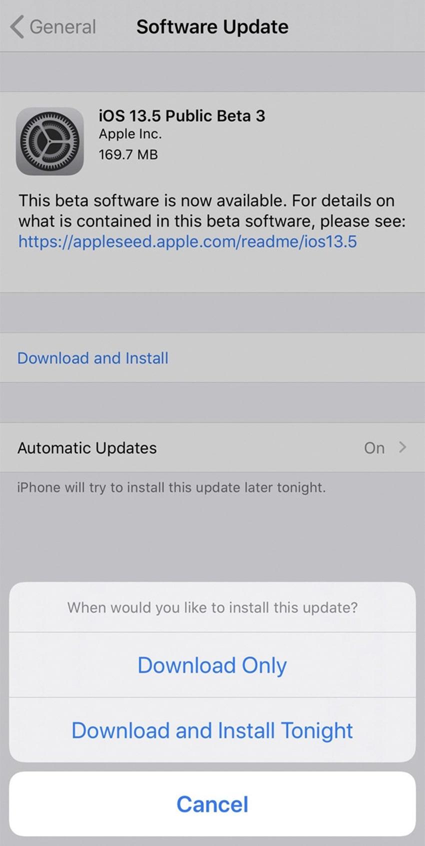 Hạn chế lỗi khi cập nhật hệ điều hành iOS mới bằng cách nào