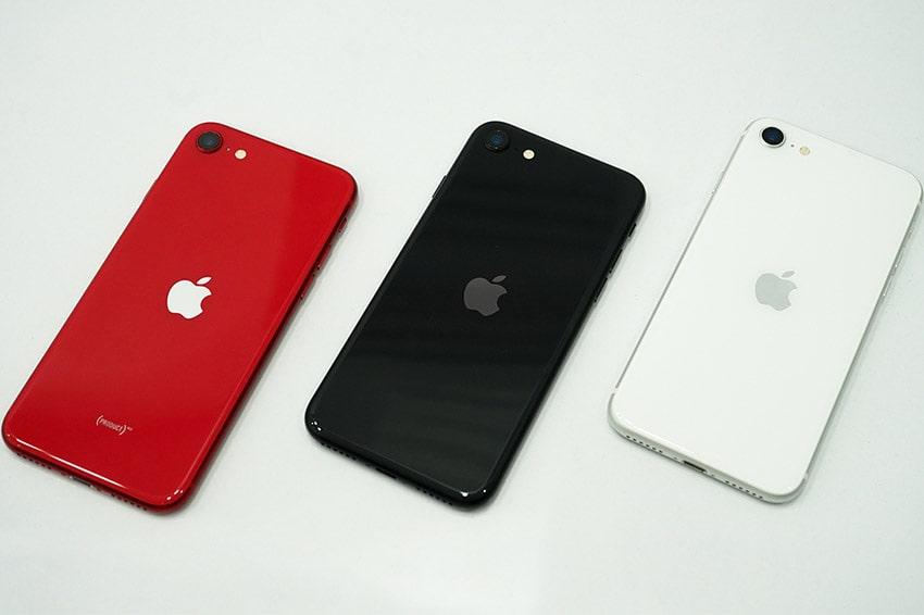 iPhone SE mới với 3 màu đen, trắng, đó sang trọng thời thượng