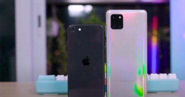 """Khác biệt giữa SE 2020 với đối thủ cực """"gắt"""" Galaxy Note 10 Lite"""