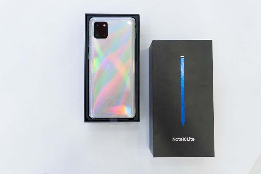 Samsung Galaxy Note 10 Lite (8GB|128GB) Chính Hãng man hinh galaxy note 10 lite viendidong 1