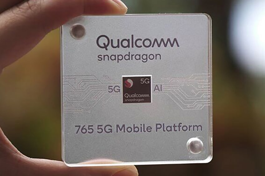 Chip Snapdragon 765G
