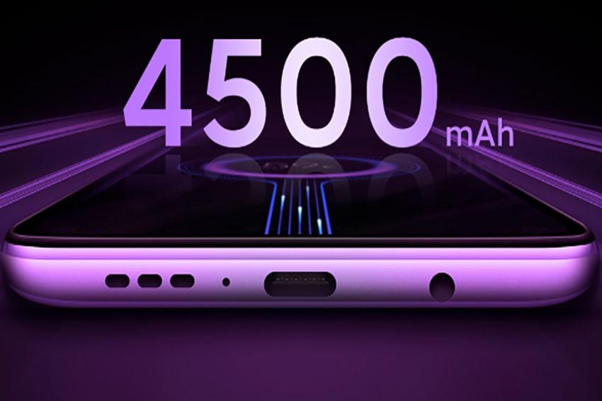 Viên pin 4.500 mAh khá tốt để đáp ứng cho người dùng sử dụng một ngày dài