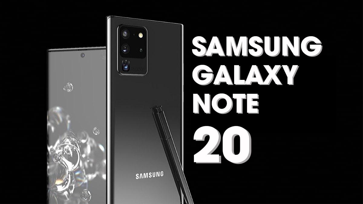 Siêu phẩm Samsung Galaxy Note 20 được hé lộ mức pin