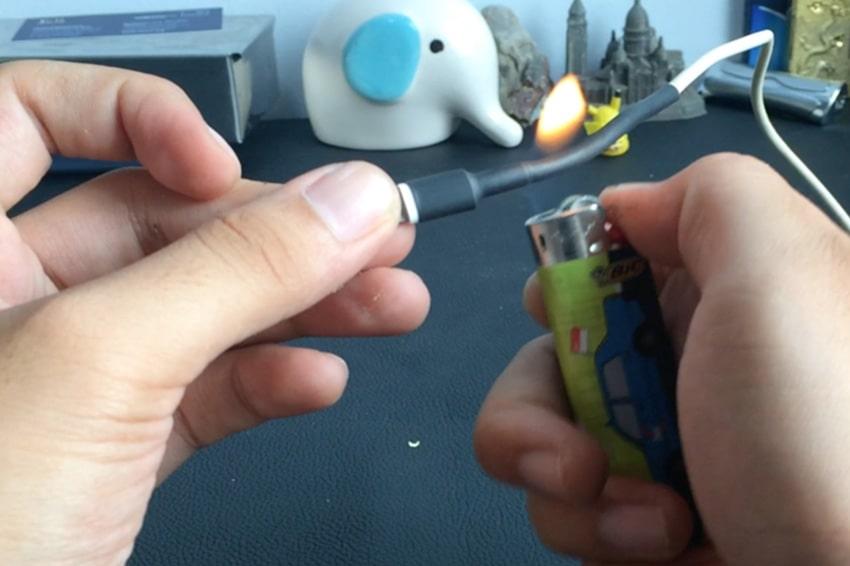 Phương pháp sử dụng ống co nhiệt