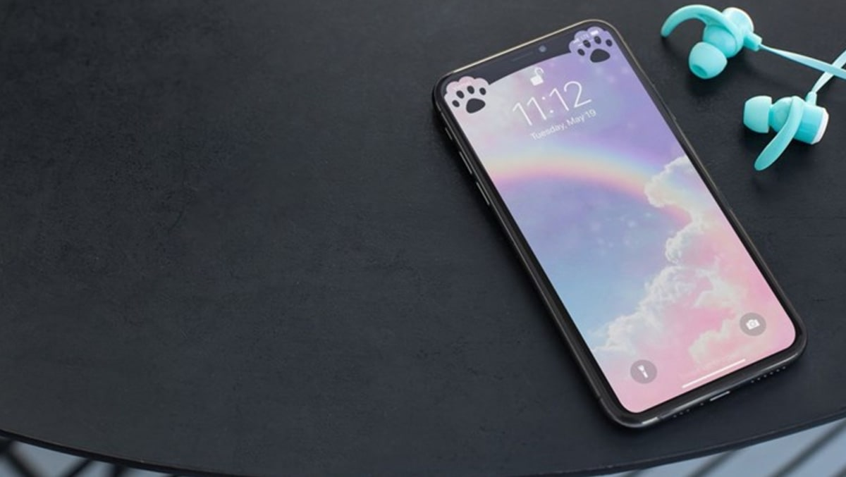 Tạo hình nền ẩn tai thỏ cực dễ thương trên iPhone