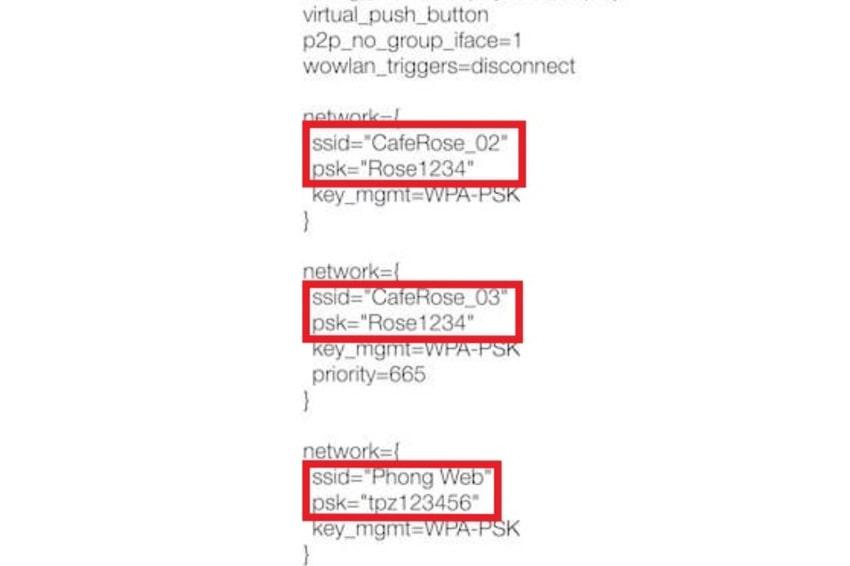 3 cách xem mật khẩu Wifi trên Android cực dễ