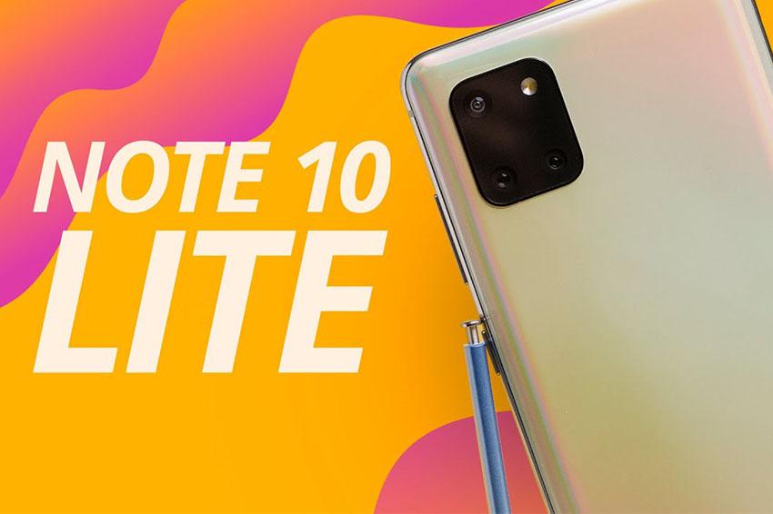 Samsung Galaxy Note 10 Lite (8GB|128GB) Chính Hãng thiet ke samsung galaxy note 10 lite viendidong copy