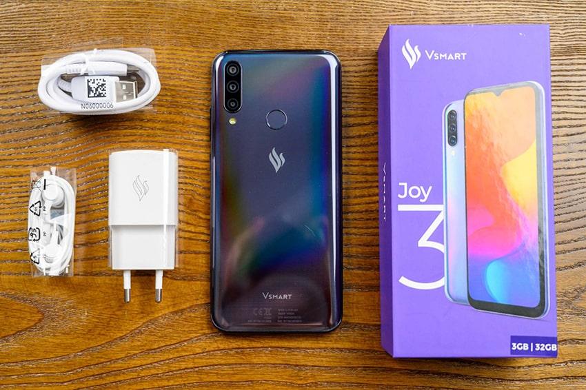 Vsmart Joy 3 là chiếc smartphone bán chạy nhất