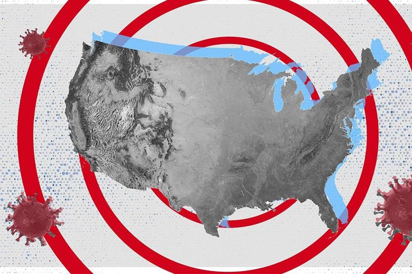 Làn sóng Covid-19 tại Mỹ vẫn chưa hạ nhiệt