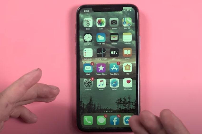 Lỗi màn hình xanh trên iPhone 11