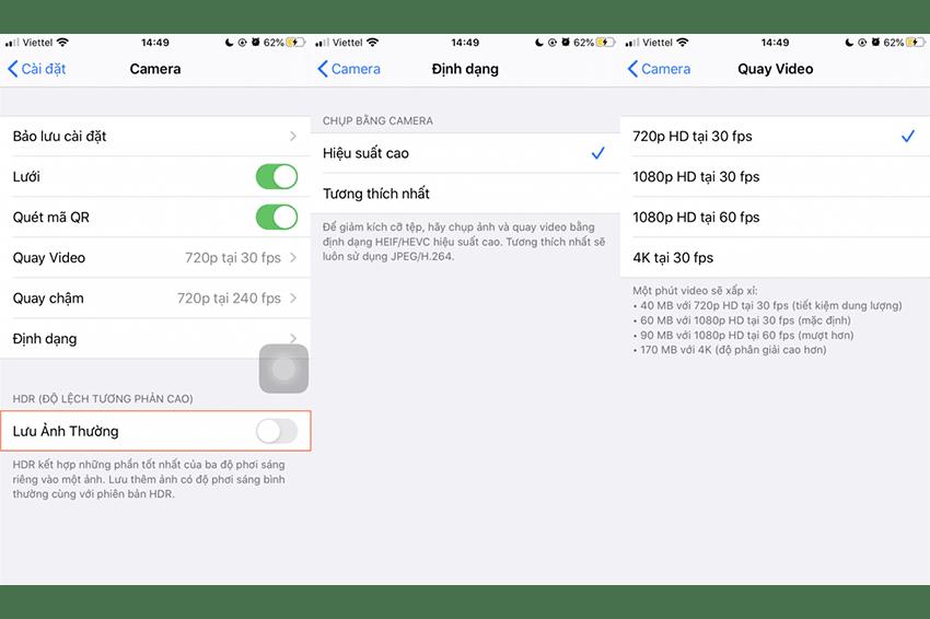 Cách khắc phục khi iPhone bị đầy bộ nhớ