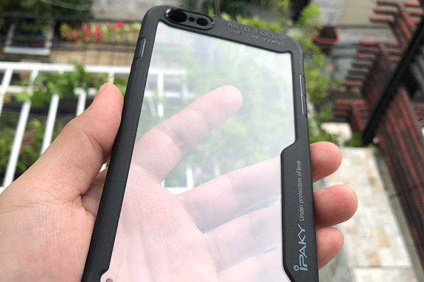Ốp lưng iPhone 6 iPaky mạ viền
