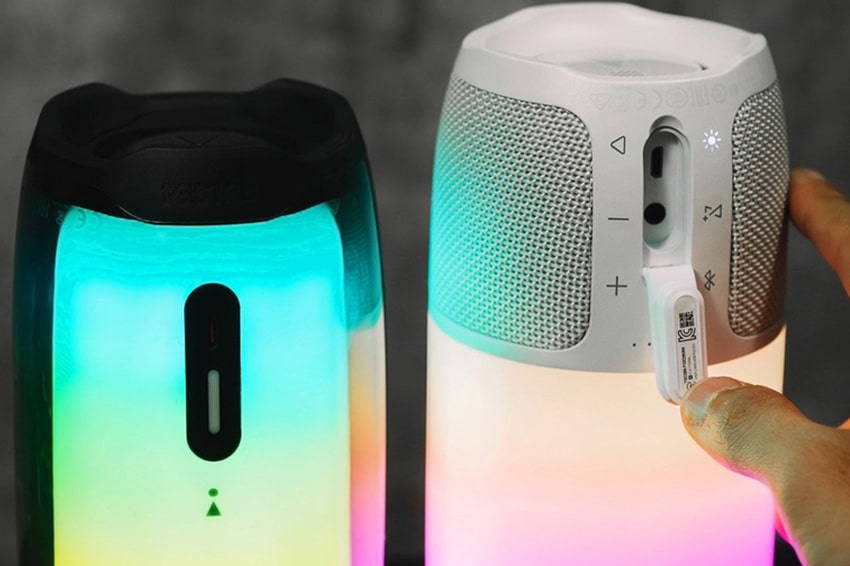 Thiết kế loa Bluetooth JBL PULSE 4