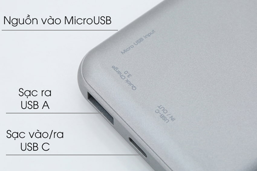 USB Pin dự phòng kiêm sạc không dây Energizer QE10007PQGY có dung lượng pin 10.000mAh cho khả năng sạc đầy đến 4 chiếc smartphone. Ngoài chức năng sạc pin có dây thông thường thì pin sạc dự phòng còn được trang bị khả năng sạc không dây 10W. Chức năng sạc không dây này tương thích với mọi thiết bị hỗ trợ sạc không dây Qi. Công nghệ sạc nhanh đa nền tảng (Multi protocol Fast Charging) cũng được tích hợp kèm theo hỗ trợ tất cả các chuẩn sạc nhanh SamSung, Apple, Huawei cùng các thiết bị Android khác. Hỗ trợ chuẩn sạc USB-C Power Delivery 18W, công nghệ Auto voltage sensing tân tiến Pin dự phòng kiêm sạc không dây Energizer QE10007PQGY được hỗ trợ chuẩn sạc USB-C Power Delivery 18W giúp người dùng sạc thiết bị nhanh chóng hơn để có thể tiếp tục sử dụng mà không cần phải chờ đợi quá lâu. Trong vòng 30 phút người dùng đã có thể sạc đầy 50% pin. Với chức năng sạc nhanh này người dùng có thể bổ sung pin nhanh chóng cho thiết bị của mình.