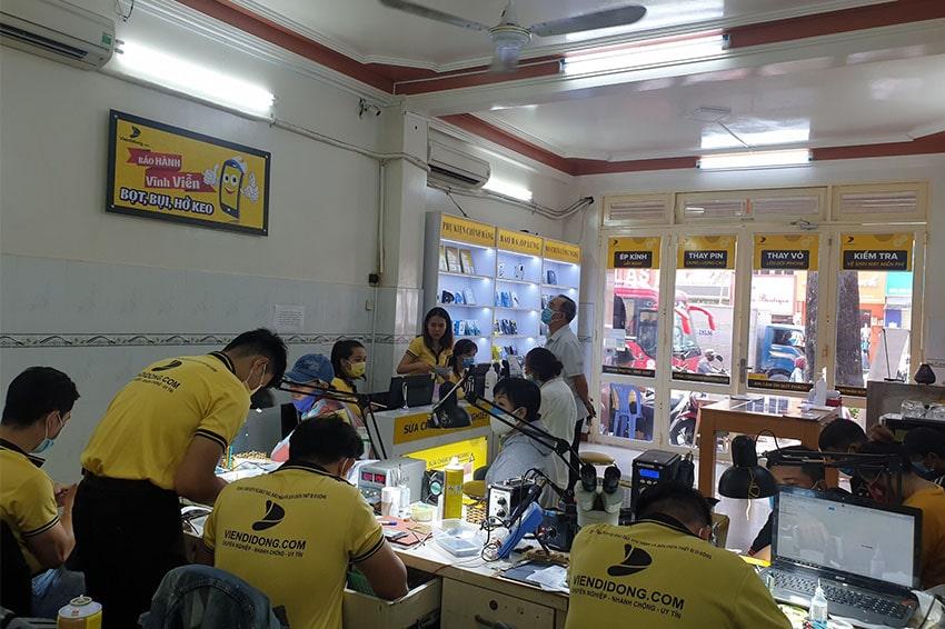 Viện Di Động là nơi sửa chữa, trade - in thu cũ lên đời được nhiều khách hàng tin tưởng