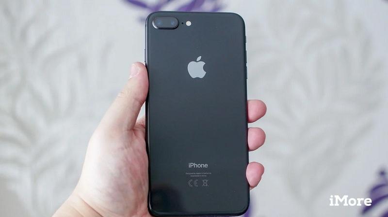 Mẫu iPhone 8 Plus cũ màu đen