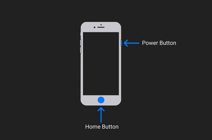 Hướng dẫn sử dụng iPhone 8 và 8 Plus cho người mới: Chụp màn hình iPhone 8 và 8 Plus bằng nút nguồn và nút Home