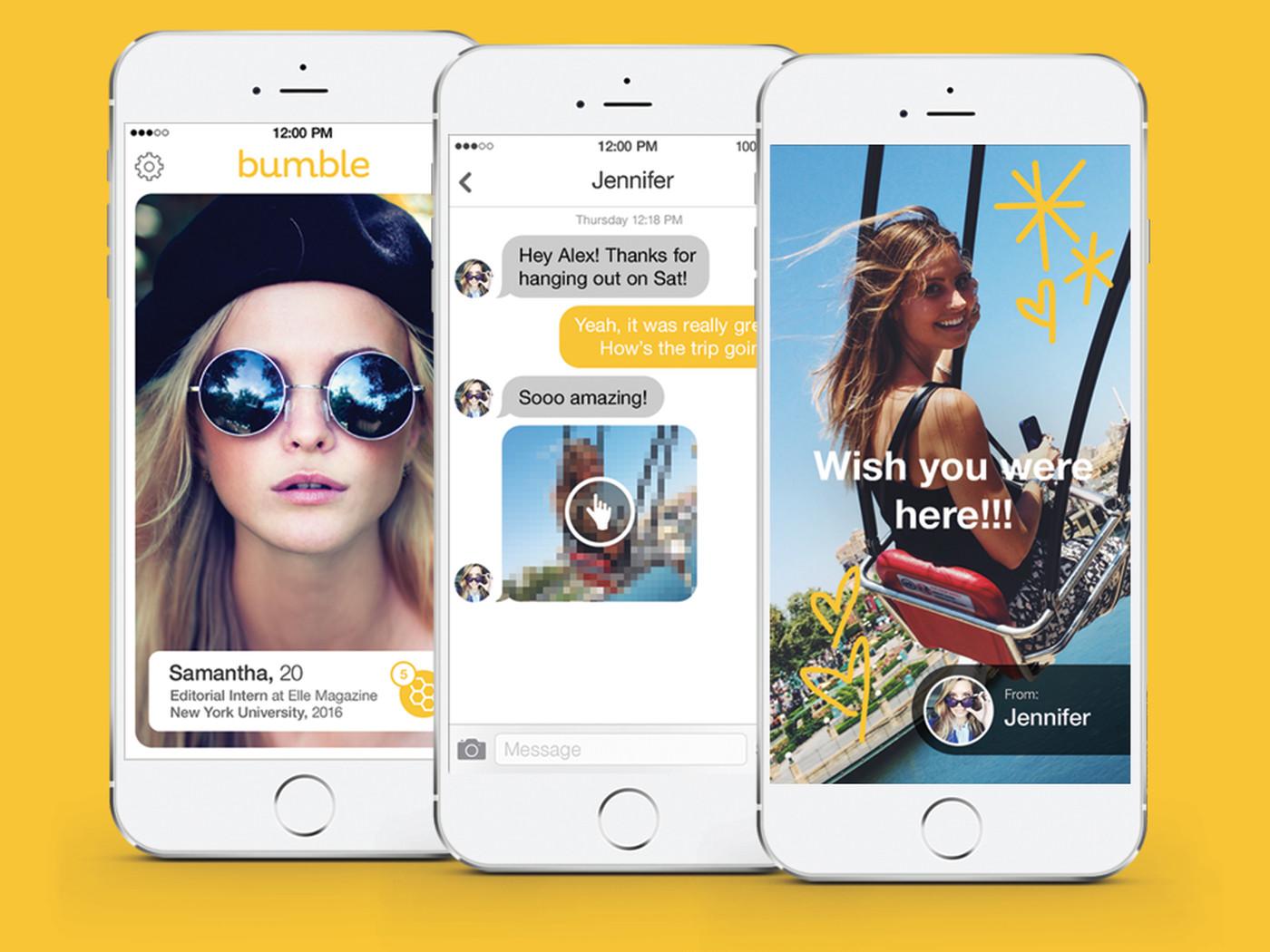 Bumble thuộc top ứng dụng hay cho iPhone 2020