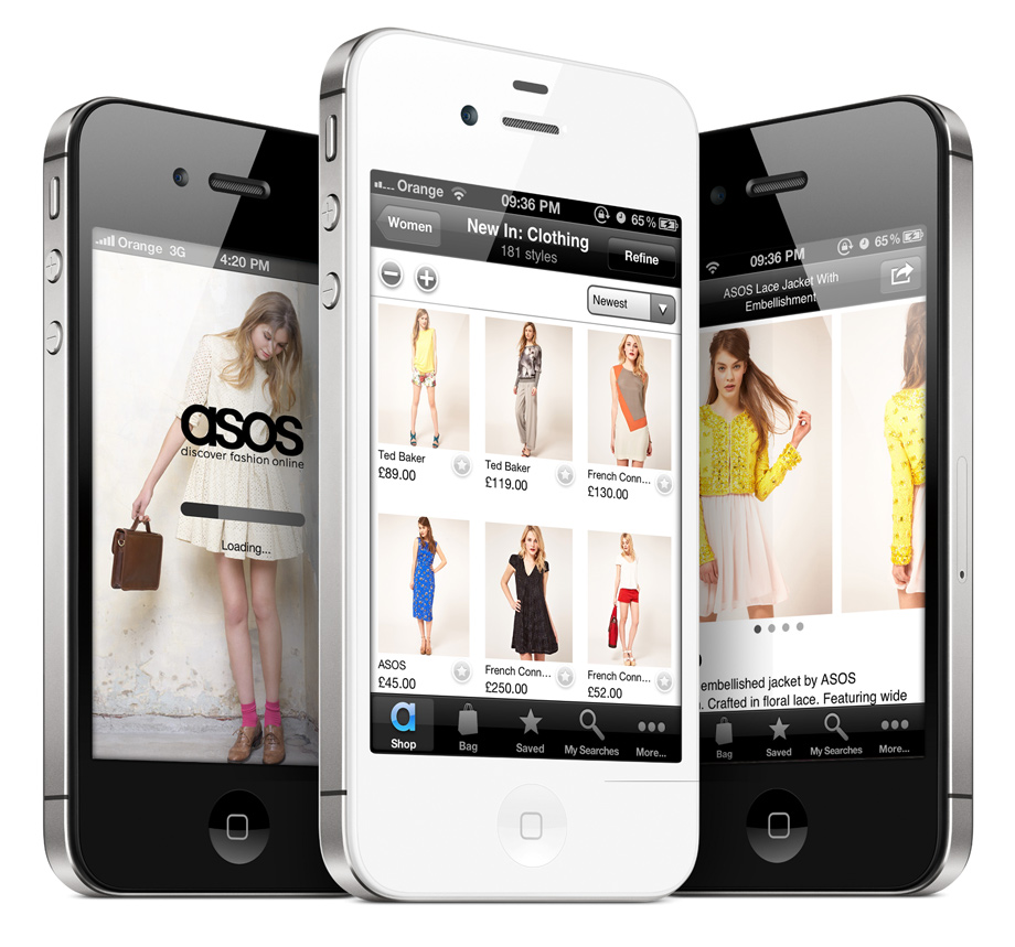 App ASOS trong top ứng dụng hay cho iPhone 2020