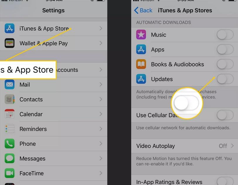 Cách tiết kiệm pin cho iPhone bằng việc chặn làm mới ứng dụng nền