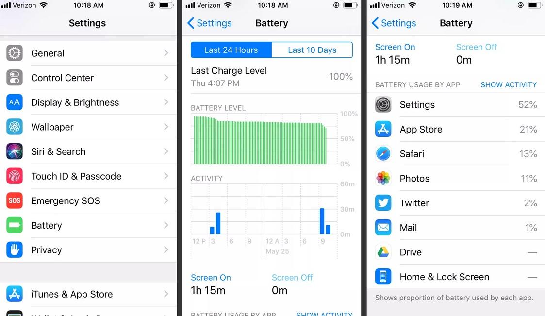 Cách tiết kiệm pin iPhone bằng việc tìm nguyên nhân
