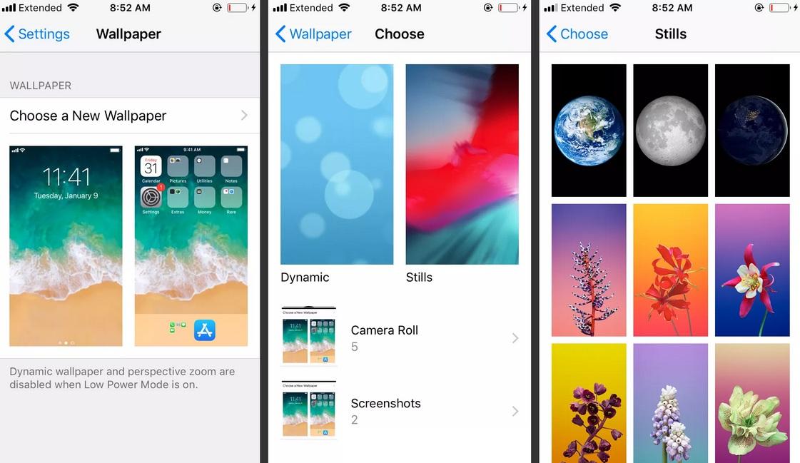 Cách tiết kiệm pin iPhone bằng việc tắt Dynamic Background