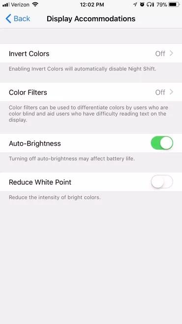 Cải thiện pin iPhone bằng cách giảm độ sáng màn hình