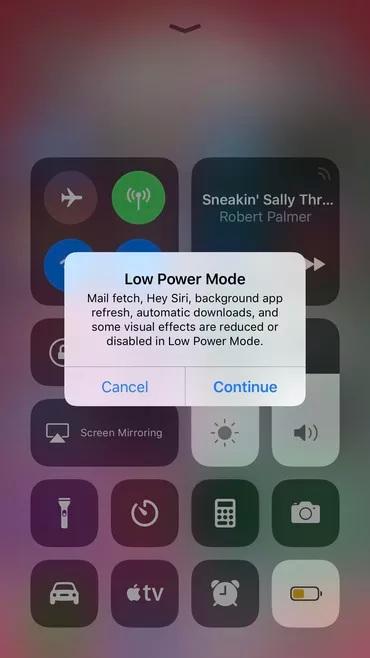 Cải thiện pin iPhone bằng việc dùng chế độ năng lượng thấp