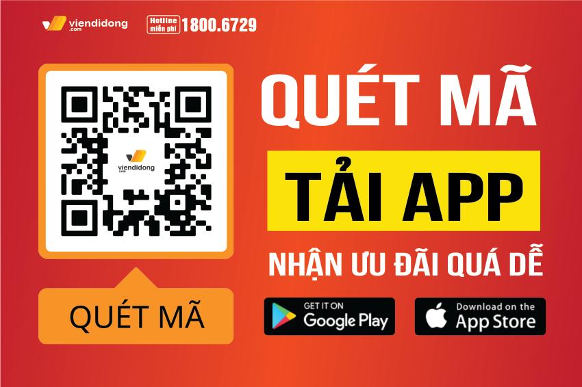 Viện Di Động ra mắt mã code QR - Quét ngay để tải App và nhận ưu đãi ngập tràn 850x566 banner hotsale
