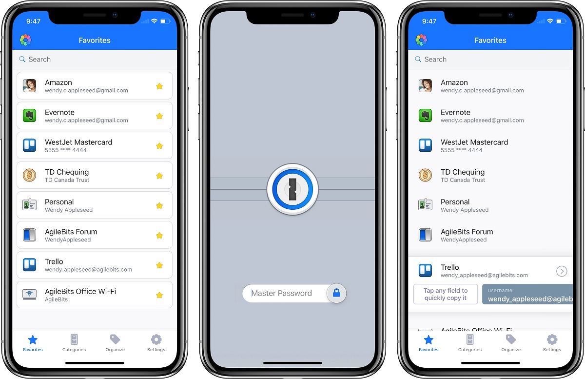 App 1Password trong top ứng dụng hay cho iPhone 2020