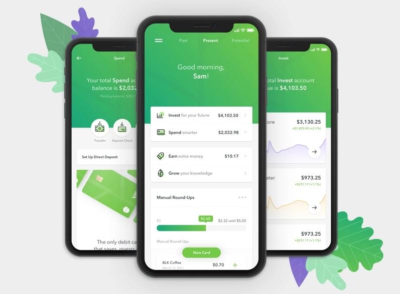 App Acorns trong top ứng dụng hay cho iPhone 2020