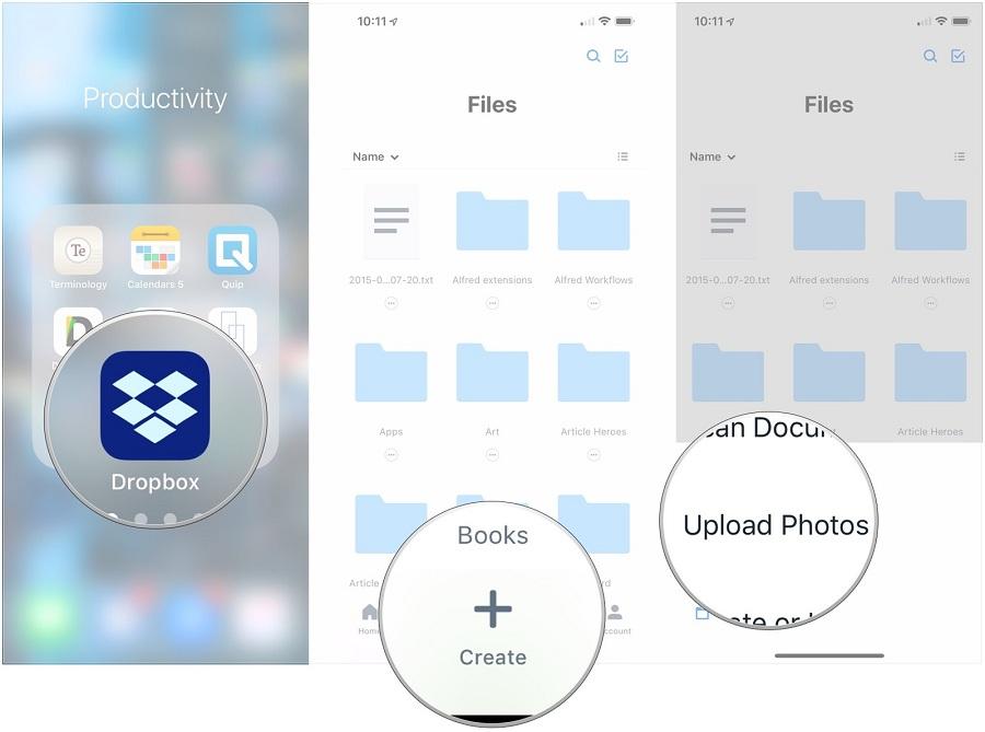 App Dropbox trong top ứng dụng hay cho iPhone 2020