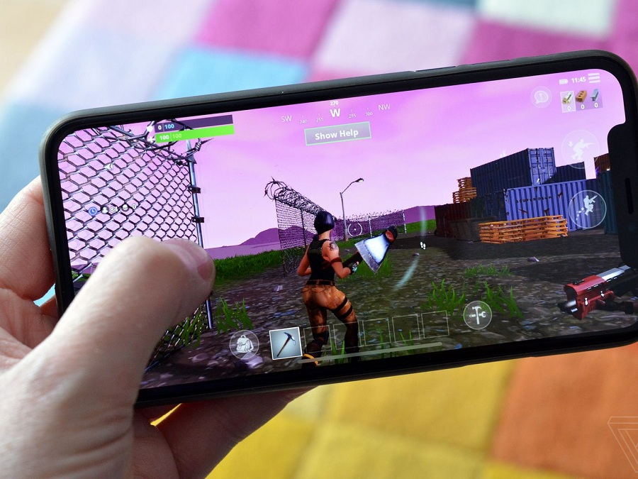 Game Fortnite trong top ứng dụng hay cho iPhone 2020