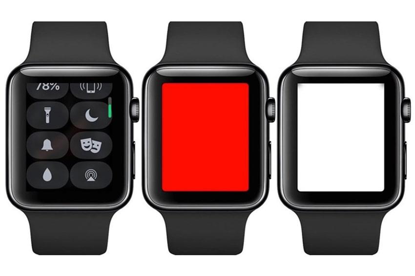 Chức năng đèn Flash trên smartwatch