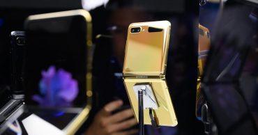 """Galaxy Z Flip 5G """"dậy sóng"""" với phiên bản màu đồng huyền bí"""