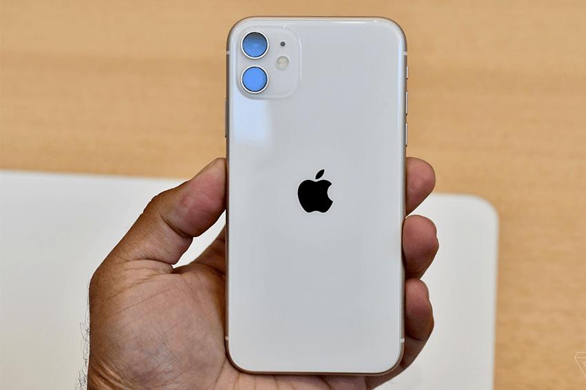 iPhone 11 128GB Chính Hãng (2 SIM) iphone 11 128gb chinh hang quoc te like new viendidong 1
