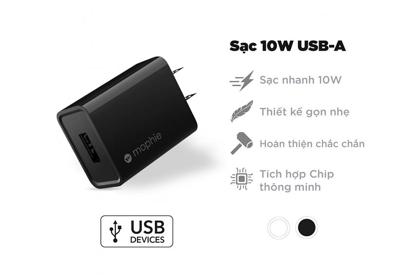 Sạc Mophie 10W USB-A