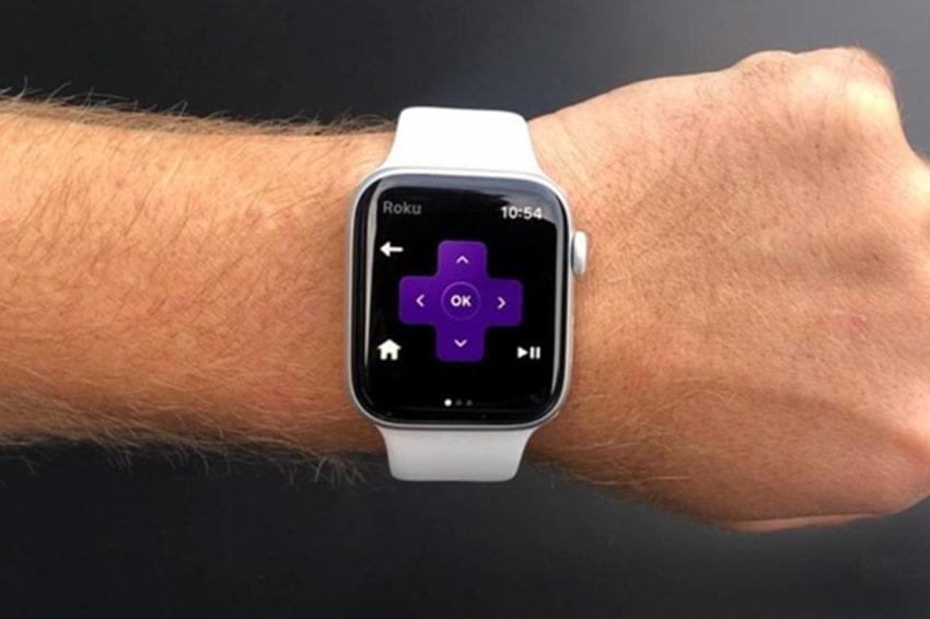 Thật là tiện dụng khi sử dụng smartwatch để điều khiển từ xa