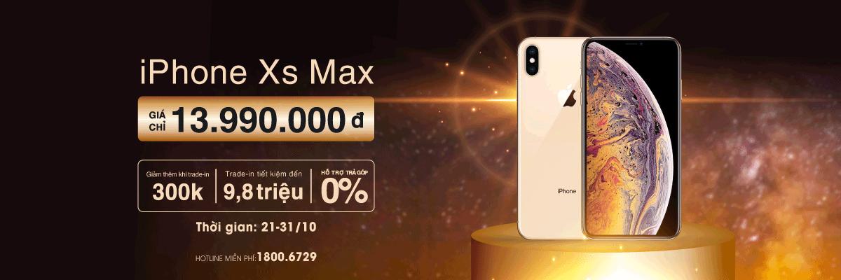 iPhone XS Max giá chỉ từ 13.990.000đ