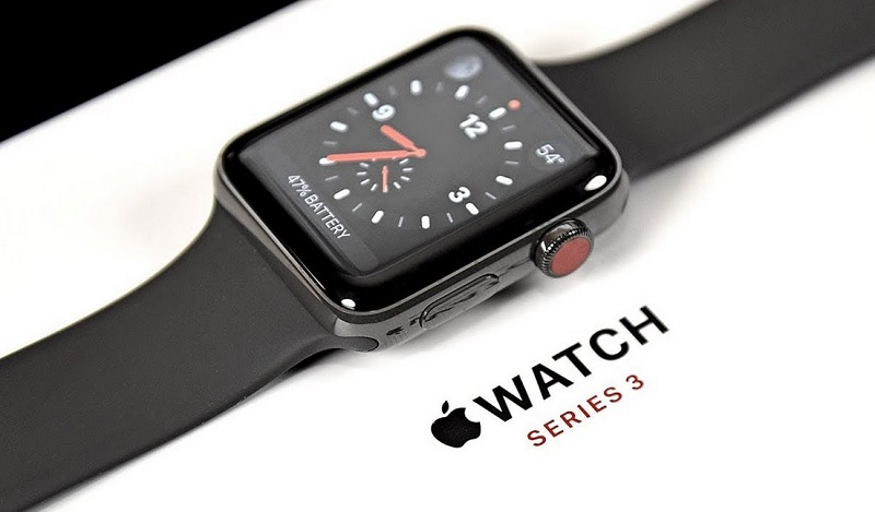 Apple Watch Series 3 màu đen
