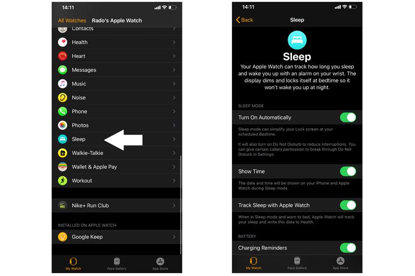 Cách sử dụng tính năng theo dõi giấc ngủ trên Apple Watch