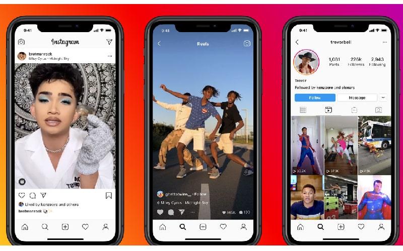 Instagram ra mắt tính năng Reels