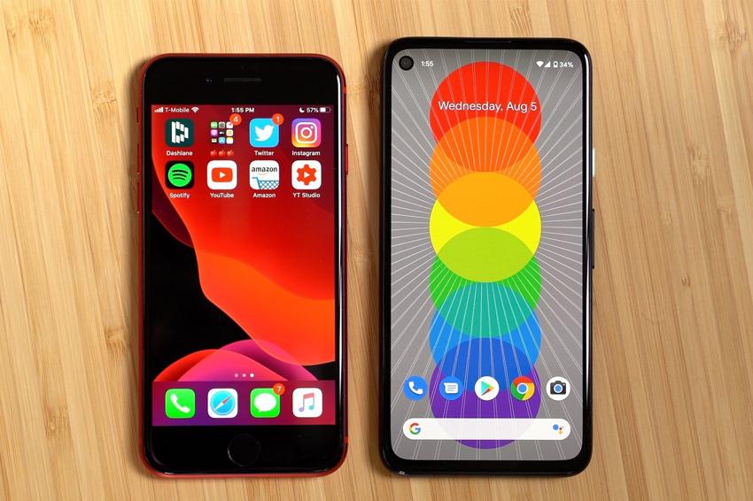 So sánh nhanh iPhoneSE và Google Pixel 4a