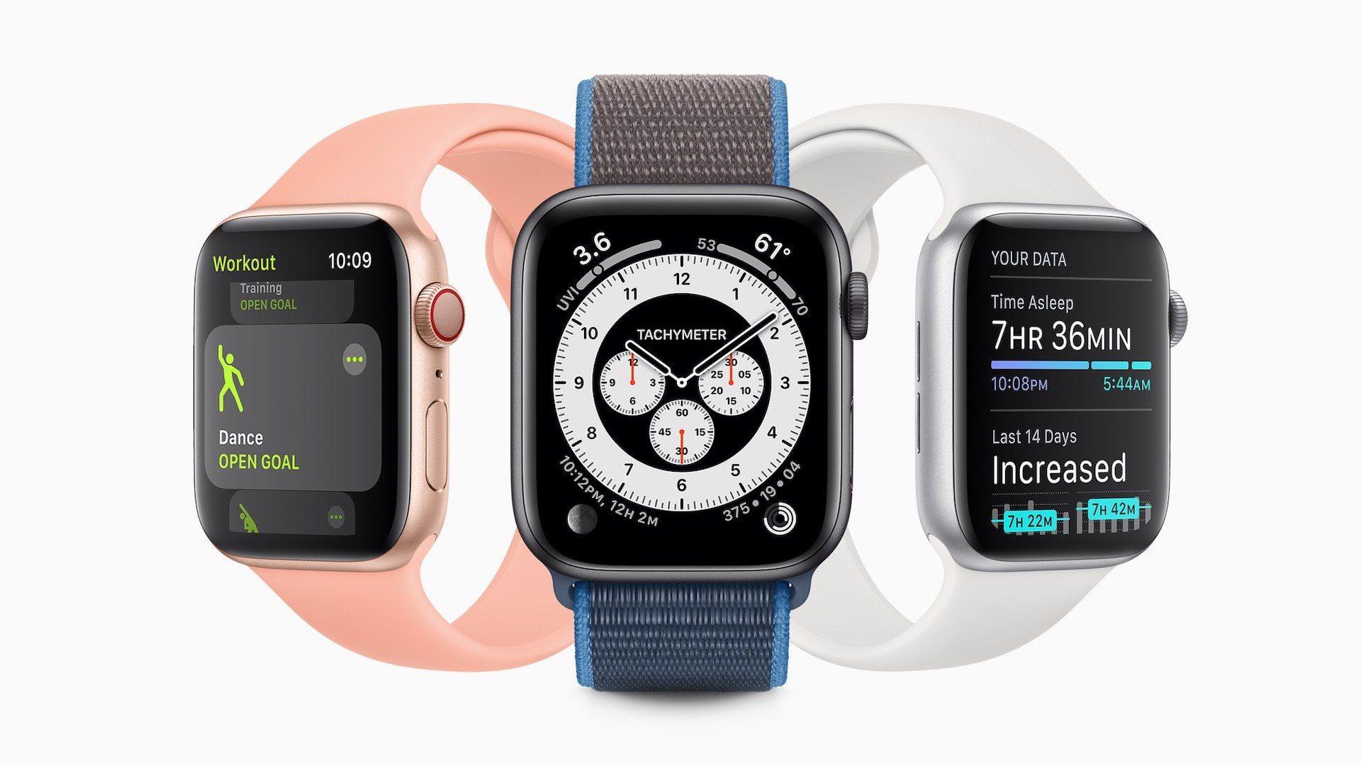Apple phát hành Watchos 7 Public Beta