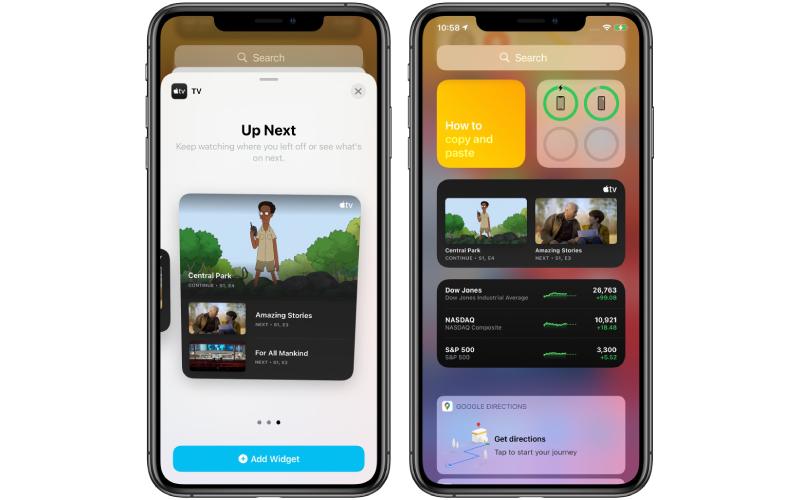 iOS 14 beta 4 được cập nhật thêm Apple TV widget