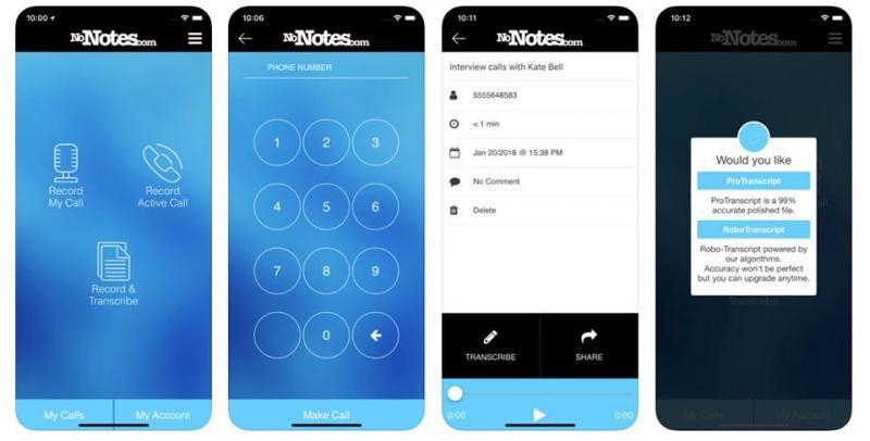 Ứng dụng ghi âm NoNotes